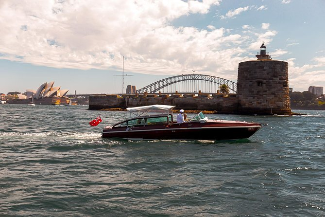 Unique Private Icons Cruise on Sydney Harbour for up to Six