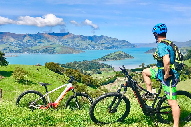 Guided Electric Mountain Bike & Kayak Tour Package in Akaroa