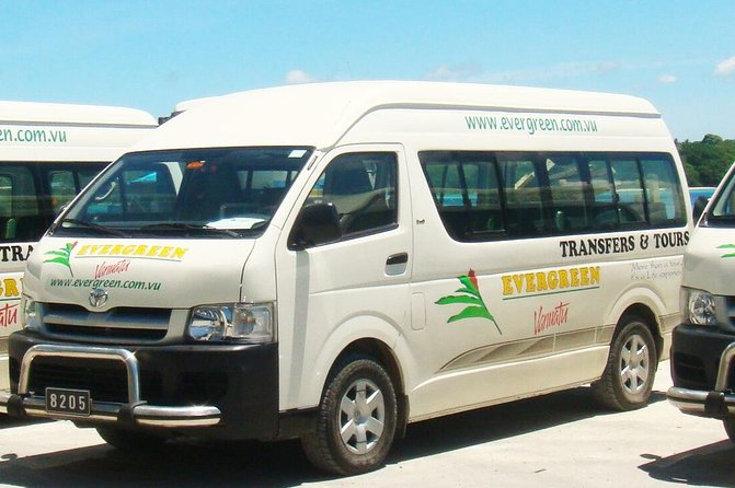 Port Vila Hotel Transfer - to Bauerfield Airport Port Vila