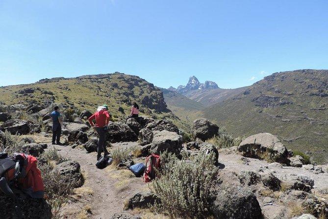 5 Days Mount Kenya Peak Circuit Trek to Point Lenana