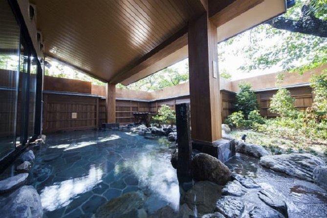 [Saturdays, Sundays, and holidays only] Kyoto Arashiyama Onsen Kazefu no Yu Advance electronic ticket (Izumi)