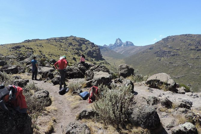 5 Days Mount Kenya climb to Point Lenana, Second highest mountain in Africa