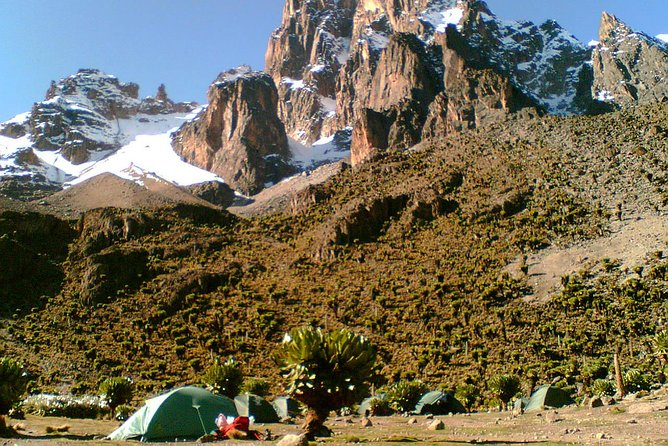 6 Days Chogoria Route Traverse to the summit of Mount Kenya Point Lenana