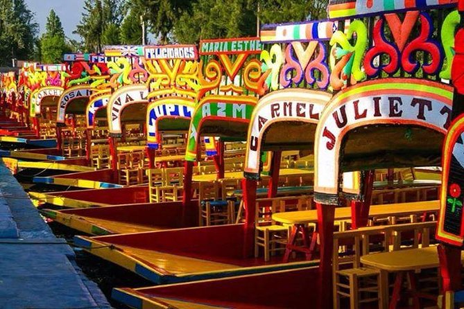 """Xochimilco """"place of flowers"""""""