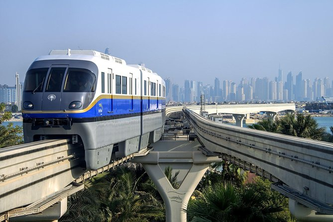 Dubai City tour with One way Monorail on Sharing Transfers