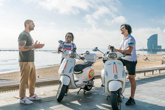 BARCELONA ICONS & PANORAMIC VIEWS by Vespa scooter