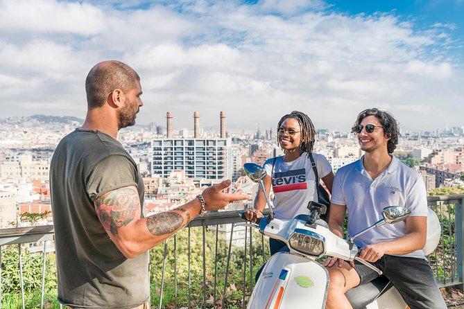 BARCELONA TREASURES & JAMON EXPERIENCE by Vespa scooter
