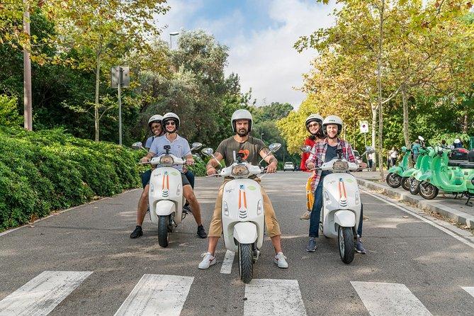 BARCELONA SECRETS & TIBIDABO by Vespa scooter