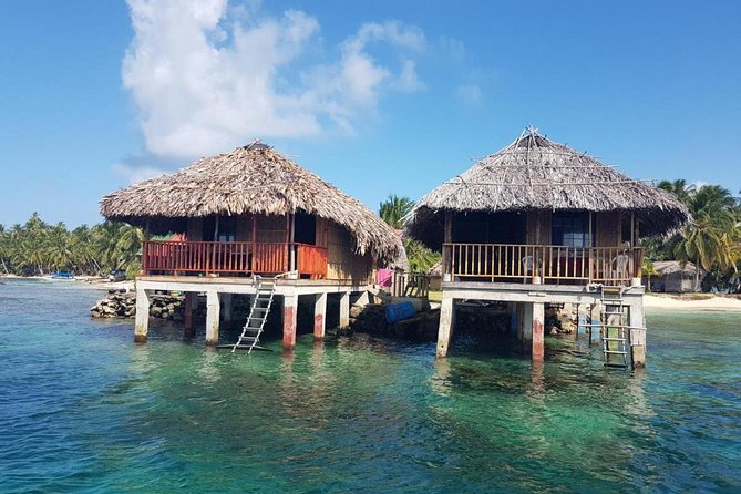 2D/1N Over-the-Ocean cabin in San Blas (Price for 2 Guests) Incl Meals and Tour