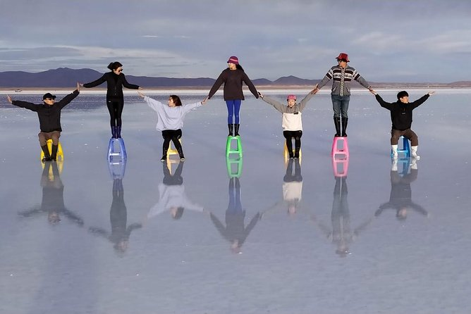 Uyuni Salt Flats: Full Day Shared Tour with english speaking guide