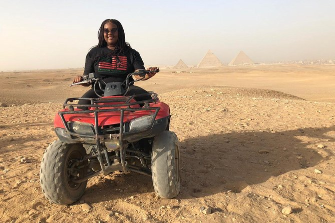 Private Safari:Quad Bike & Camel Ride Sunrise/Sunset Tour or any requested time