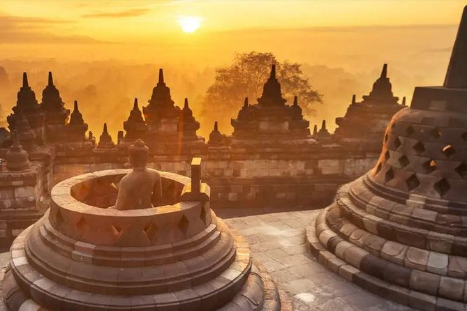 Borobudur Temple Sunrise photo 3
