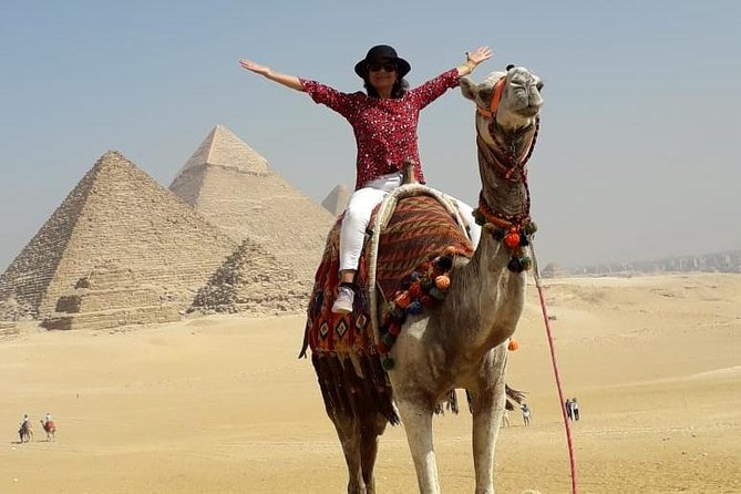 Private Half-Day Tour to the Giza Pyramids with Lunch from Cairo/Giza photo 7
