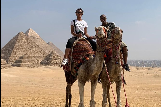 Private Half-Day Tour to the Giza Pyramids with Lunch from Cairo/Giza photo 4