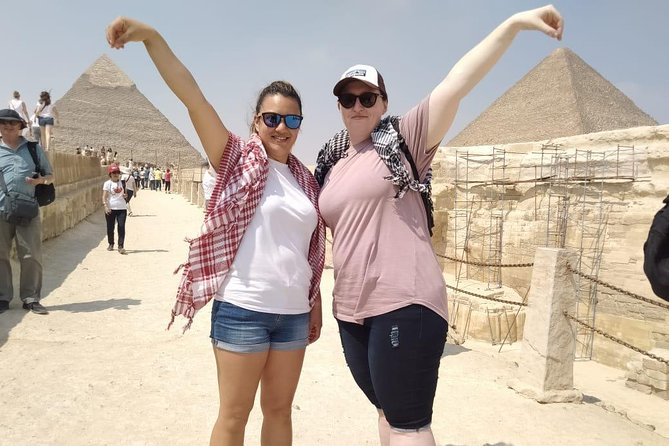 Private Half-Day Tour to the Giza Pyramids with Lunch from Cairo/Giza photo 8