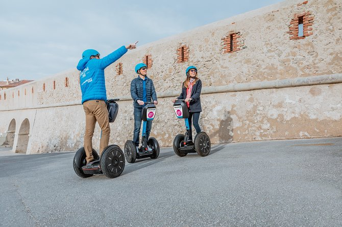 Discovery of Nancy in Segway Gyropode with Mobilboard