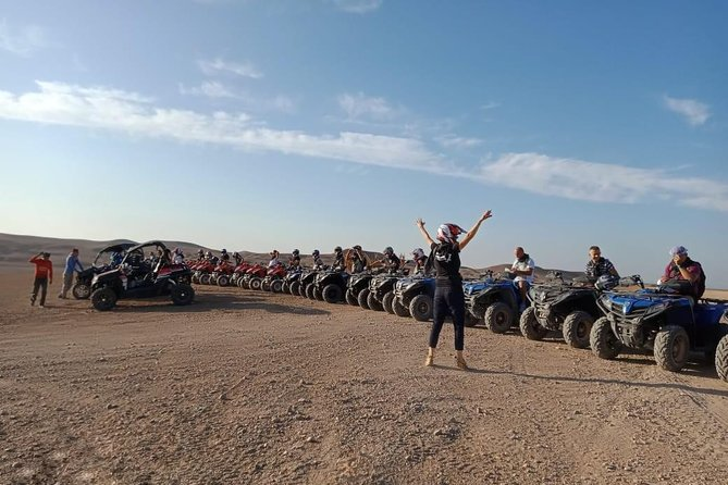 Half Day Quad Biking Tour In Agafay Desert