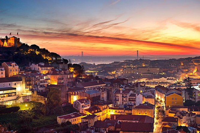 Panoramic City of Lisbon with Fados show