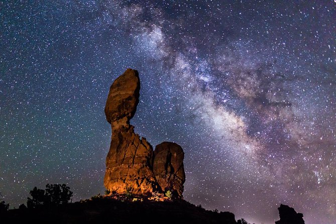 Sunset and Night Photography in Arches National Park