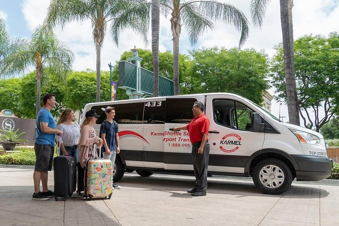 Private Van Transfer: Long Beach & San Pedro Cruise Terminals to LAX airport