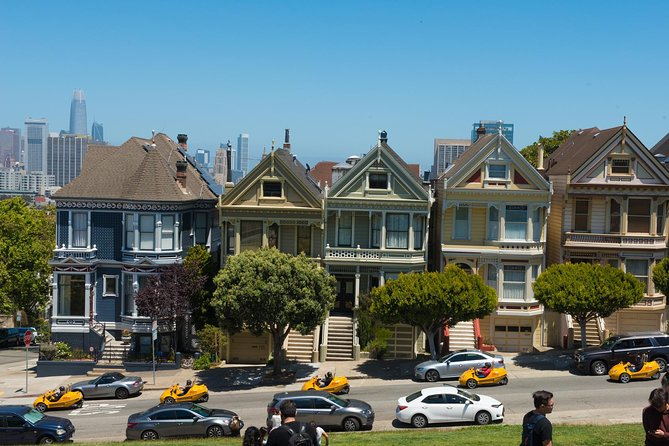 4-Hour Painted Ladies and Haight-Ashbury GoCar Tour photo 1