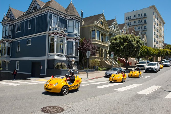 4-Hour Painted Ladies and Haight-Ashbury GoCar Tour photo 4