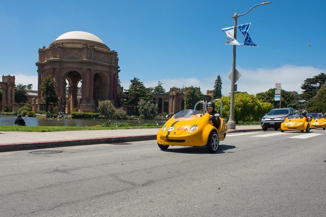4-Hour Painted Ladies and Haight-Ashbury GoCar Tour