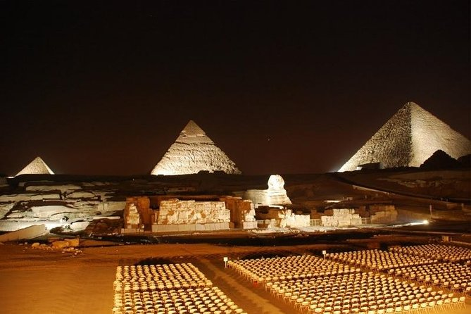 Pyramids Sound and Light Show with Private transfer photo 3
