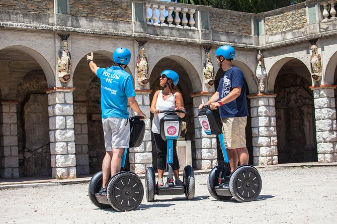2H Visit of the City of Nancy with Mobilboard on Segway Gyropode