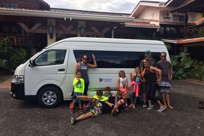 Private Shuttle from Manuel Antonio to Arenal / La Fortuna Area