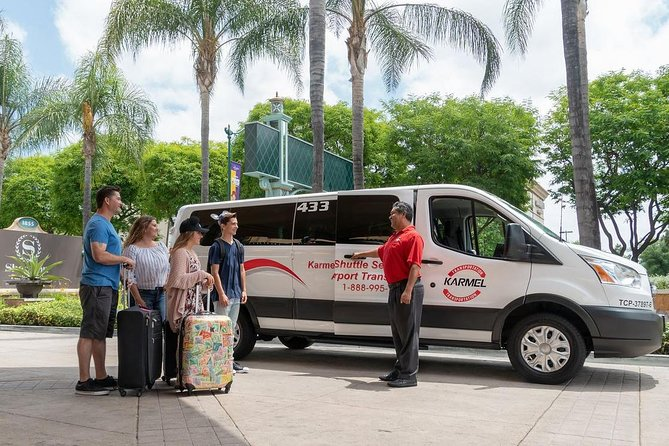 Private Van Transfer: Long Beach & San Pedro Cruise Ports to Anaheim Resort area