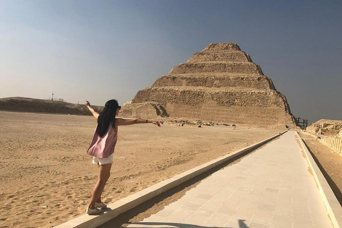 Half Day Private Tour To Visit Serapium Temple of God Apis and The Step Pyramid