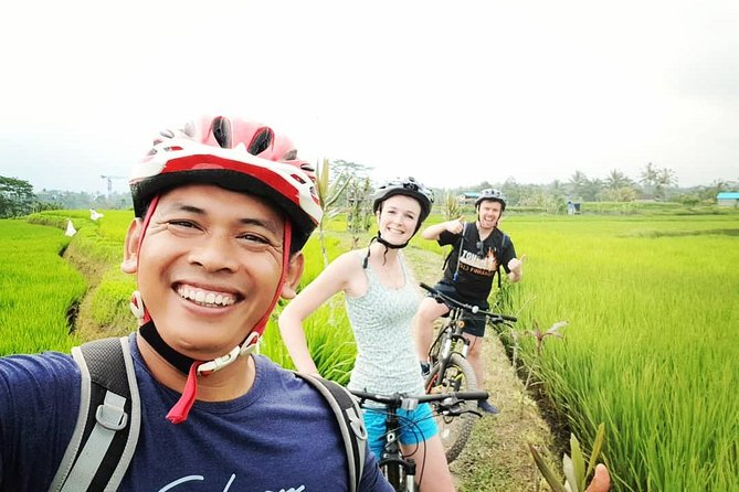 Amazing cycling tour from kintamani to ubud
