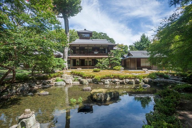 Family Mitsui House Museum with green tea admission ticket