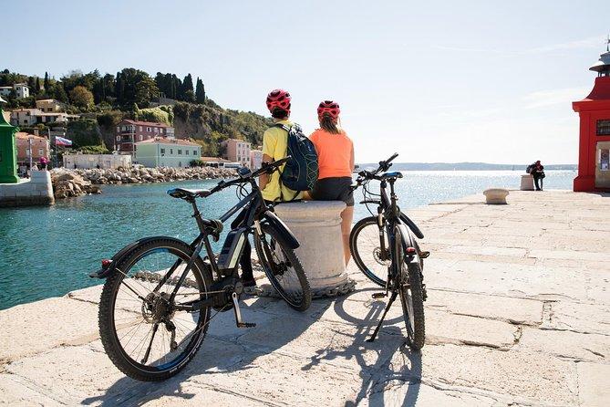 Slovenian coast Koper, Izola, Piran - Parenzana electric biking tour from Koper