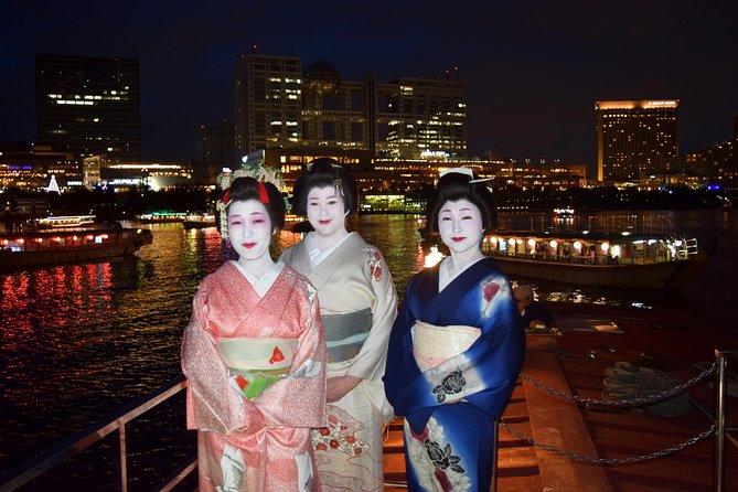 Call Fukagawa Geisha to Join You on a Yakatabune Boat Trip