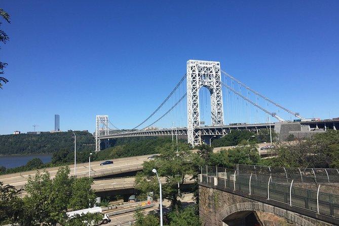 Walk the George Washington Bridge - and hike the Palisades and view the Hudson!