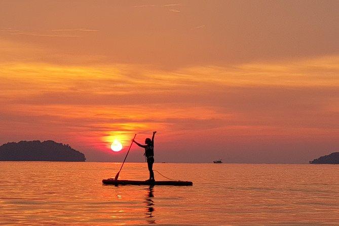 Stand Up Paddle Boarding At Tanjung Aru, Sabah