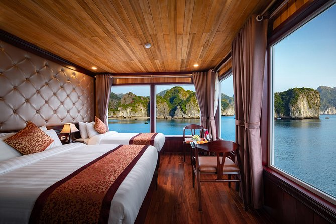 2 Days & 1 Night Lavender Elegance Cruise with Meals,Tickets,Caves,Taichi & More