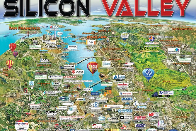 SUV Tour To Silicon Valley including Stanford Walking tour