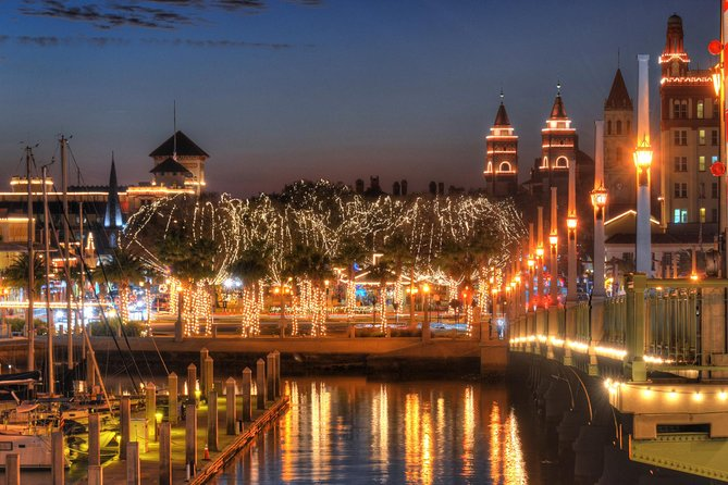 World Famous - St Augustine Nights of Lights - Water Tour