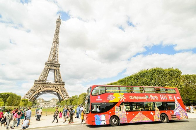 city sightseeing Paris : Red Line and Boat