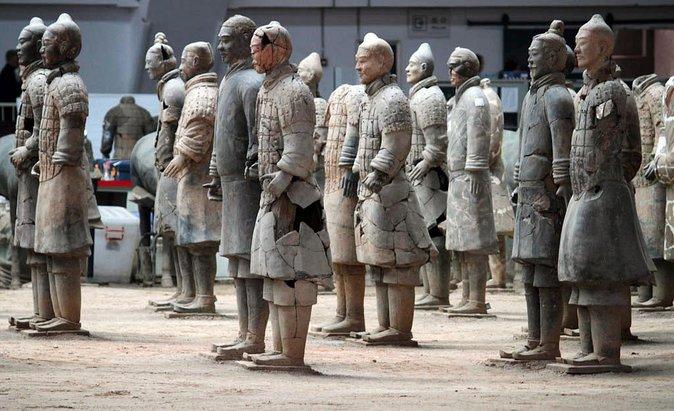 Excursão de um dia a Xian Terracotta Warriors saindo de Pequim com bilhetes de trem de ida e volta