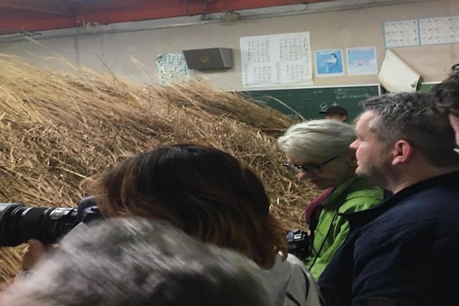 2-Day Thatched Roof Craftsman Visit in Ouchijuku and Trekking