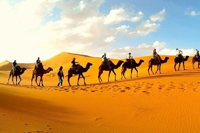 3 day Sahara desert trip from Marrakech: Merzouga dunes