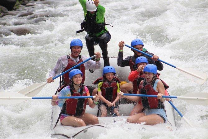 Our Most Popular Tour - White Water Rafting - Sarapiqui River Class II-III
