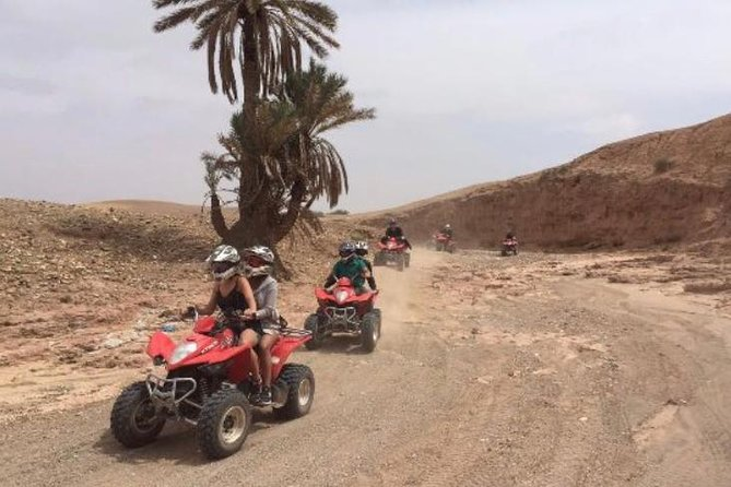Half-day Quad biking & camel riding excursion in The Desert Of Agafay and the lake of Marrakech