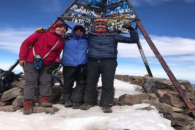 Mt Toubkal Winter Climb 2 days