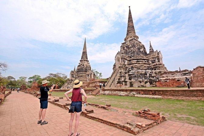 Damnoen Saduak Floating Market and Ayutthaya Full Day Tour from Bangkok