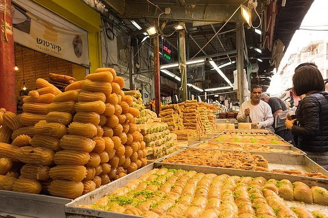 Culinary Day tour at the Carmel market (Shuk Hacarmel)